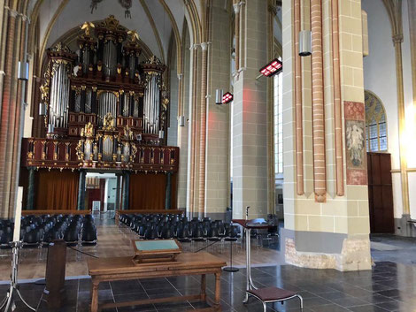 Infrarot Wärme für Kirchen ohne Vorheizen