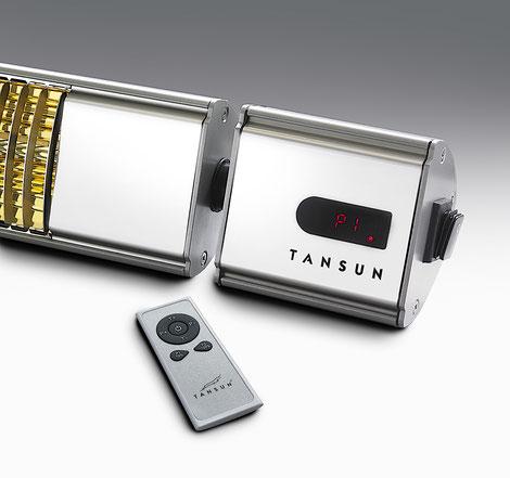 Tansun Heizstrahler Comfort XL mit integrierter Fernbedienung