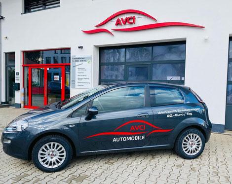 Ersatzwagen von Automobile Avci in Miesbach bei München nahe Tegernsee