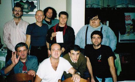1999 Pranzo assemblea del Diabolik Club
