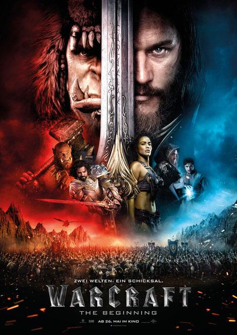 Warcraft Film - Universal - kulturmaterial - German Poster