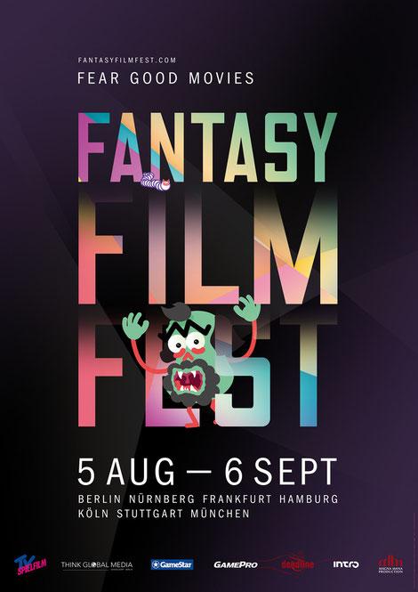 Fantasy Film Fest - Berlin - Köln - München - Genrefilme von Arthouse bis Horror - kulturmaterial - Plakat