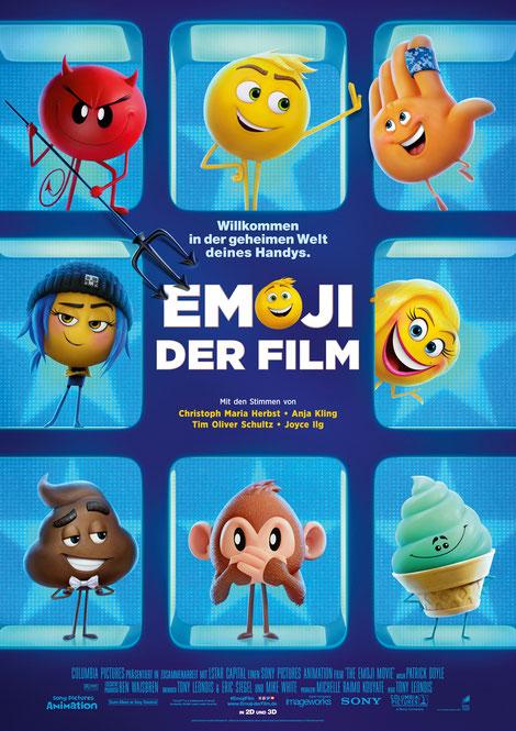 Emoji Der Film Plakat Poster - SONY - kulturmaterial
