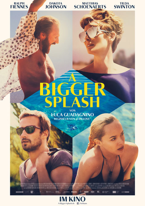 A Bigger Splash - Dakota Johnson - Studiocanal - kulturmaterial - Plakat Poster