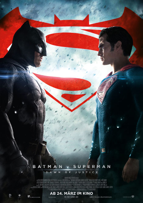 Zack Snyder - Batman v Superman - Warner Bros - kulturmaterial - Plakat Poster