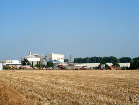 L'usine vue en venant de Grandville