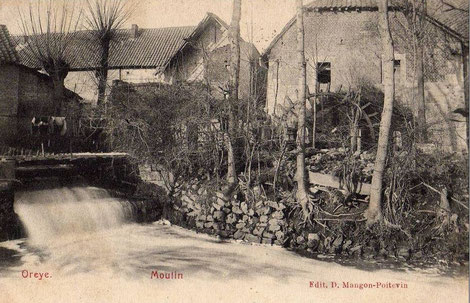 Moulin à Oreye