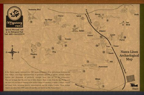 Linee di Nazca maps