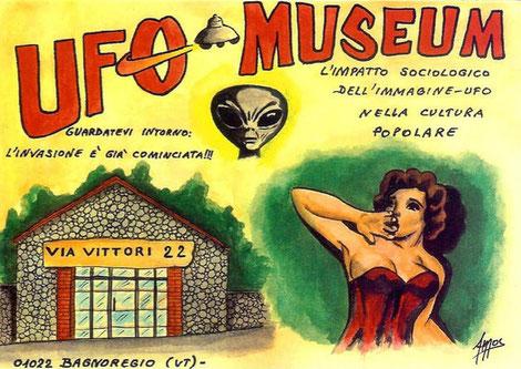 Ufo museum  Bagnoregio VT
