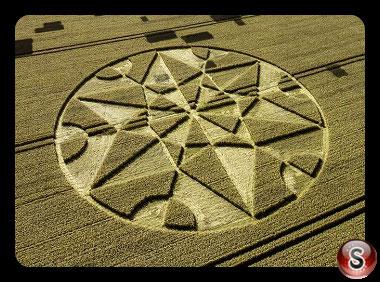 Crop circles Hackpen Hill - Wiltshire 2017