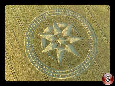 Crop circles Stonehenge - Wiltshire 2016