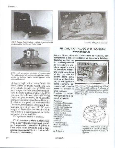 Ufo museum di Bagnoregio VT