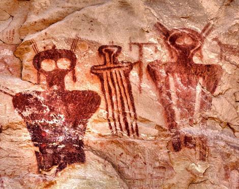 Sego Canyon pitture rupestri