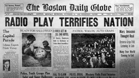 Uno dei tanti quotidiani usciti il giorno dopo, qui il The Boston Daily Globe.