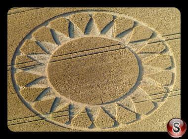 Crop circles Cley Hill - Wiltshire 2016