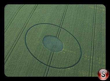 Crop circles Avebury - Wiltshire 2017