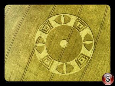 Crop circles Wylye - Wiltshire 2016