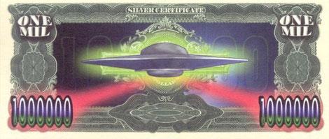 Retro banconota Area 51 ( falso )