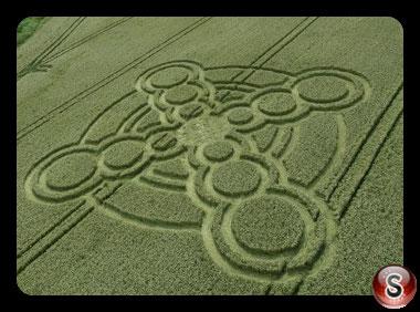 Crop circles Atherington - West Sussex 2017