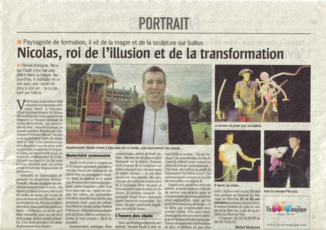 Ouest France - 14 octobre 2009