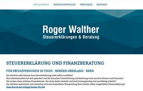 Steuererklärung und Finanzberatung Roger Walther Thun