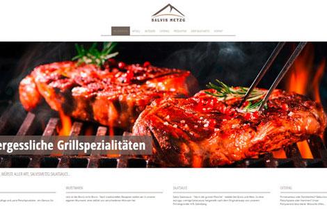 Salvis Metzg Wimmis, Das Fleischfachgeschäft in Wimmis