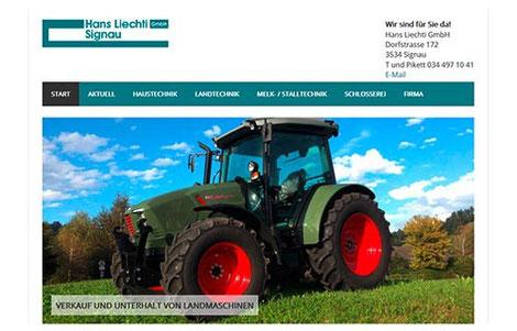 Hans Liechti GmbH Signau