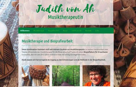 Musiktherapie und Biografiearbeit Thun