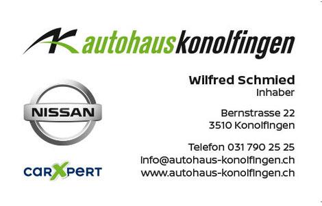 Autohaus Konolfingen, offizielle Nissanvertretung und Carxpert