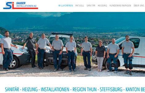 Sauser Installationen AG Steffisburg