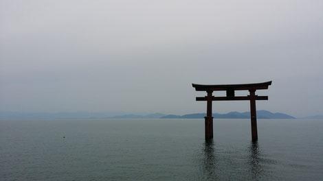 滋賀県白鬚神社