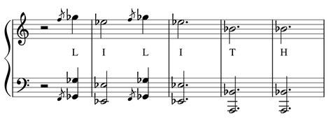 partition musique thème Lilith