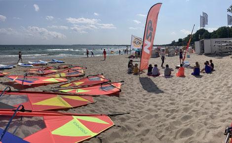 Surfschule, SUP Center, Timmendorfer Strand, Scharbeutz, OstseeOstsee,Haffkrug