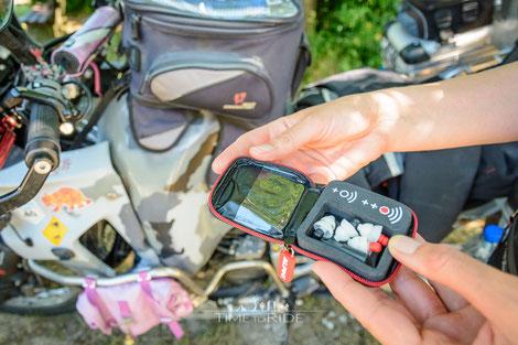 Alpine MotoSafe Pro Motorradgehörschutz auf Reisen
