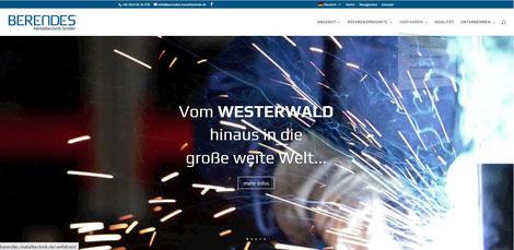 Berendes Mtealltechnik: International agierender Spezialist für Edelstahl-Sonderbauten