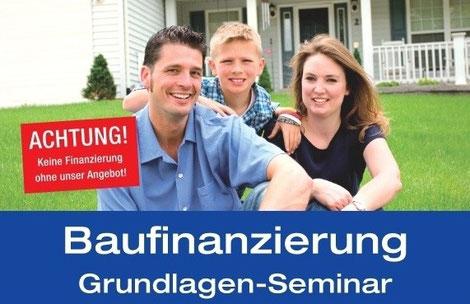 Baufinanzierungs-Grundlagen-Seminar für Kunden