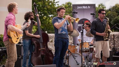 Premier atelier jazz du Conservatoire Jacques Thibaud. Festival JAZZ360 2018. Dimanche 10 juin 2018. Photographie : Christian Coulais