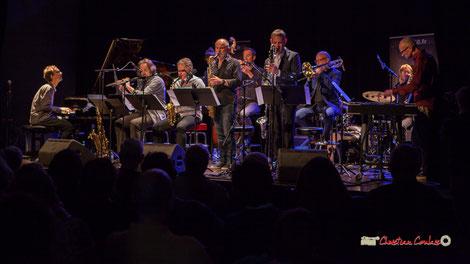 Le Festival JAZZ360 2019 accueille à Cénac, le Medium Ensemble 3 dirigé par Pierre de Bethmann