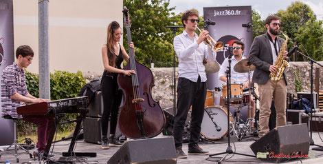Second atelier jazz du Conservatoire Jacques Thibaud. Festival JAZZ360 2018. Dimanche 10 juin 2018. Photographie : Christian Coulais