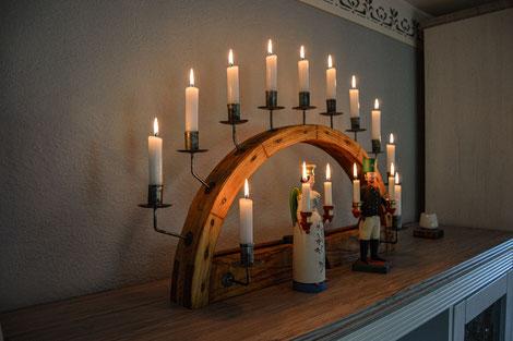 Schwibbogen Lichterbogen Modern traditionell