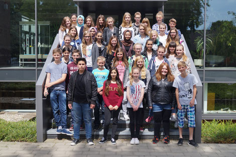 Vielen Dank für die Mithilfe an Herrn Albrecht, Herrn Gorschlüter und die künftigen Buddies!