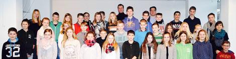 Die Schülervertretung des Gesamtschule Oelde 2015/16