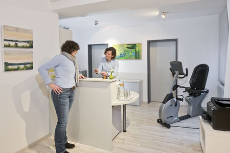 Behandlungsraum Physiotherapie Hogrebe in Northeim
