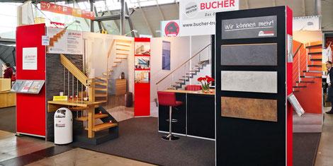 Bucher Treppen - moderne Treppenherstellung mit Präzision - Lufbefeuchtungsanlage für konstante Qualität.