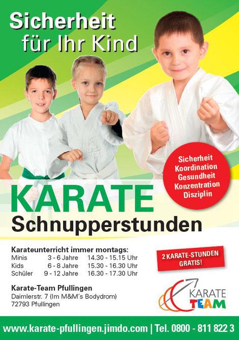 Kinder Karate Reutlingen