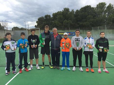 Campeones y finalistas torneo Volk