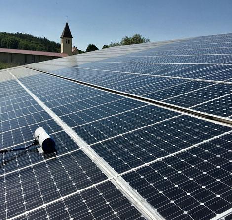 PV - Anlage putzen lassen, PV - Anlage günstig putzen lassen, Solaranlage putzen lassen, Solaranlage günstig putzen lassen