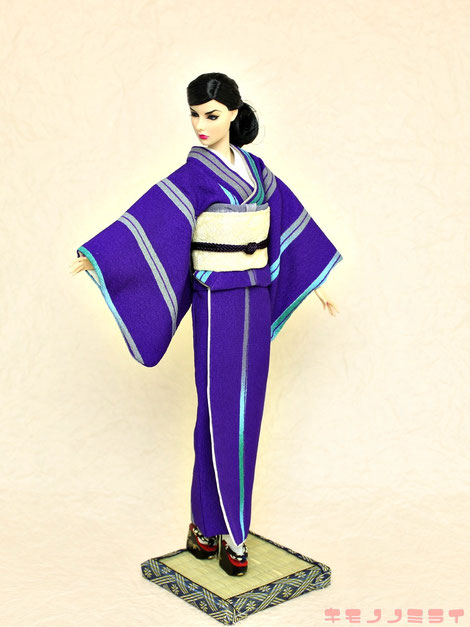 Fashion Royalty Agnes kimono,着物 FR,アグネス 和服