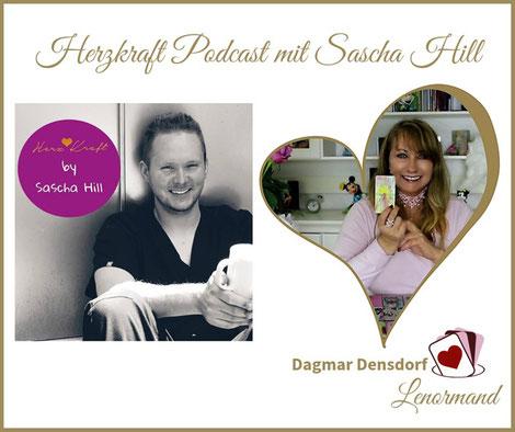 Herzkraft Podcast Sascha Hill und Dagmar Densdorf