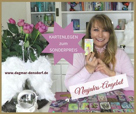Kartenlegen lassen zum Sonderpreis - Neujahrsangebot von Dagmar Densdorf